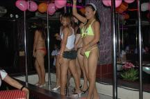 Inside a GoGo bar in Pattaya