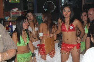 Inside a GoGo bar in South Pattaya