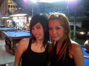 Cute Pattaya bar girls