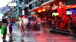 Soi 6 during Songkran 2015