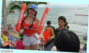 Cute Thai pretty on Jomtien beach