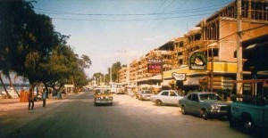 Pattaya Beach Road in the 1970s