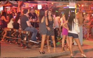 Bar girls on Walking Street