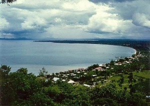 Pattaya bay in 1965