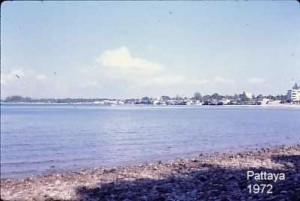 Pattaya bay in 1972