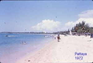 Pattaya beach 1972/73