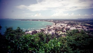 Pattaya bay in 1982