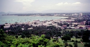 Pattaya city area in 1982
