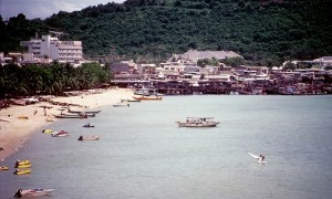 South Pattaya beach in 1982