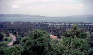 Jomtien area in 1982
