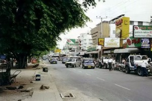 Pattaya Beach Road in 1980